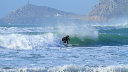 Hitting the waves in Sennen –one of Cornwall's amazing surf beaches