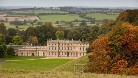 Dyrham Park comprises landscaped gardens, an ancient deer park and a 17th-century house