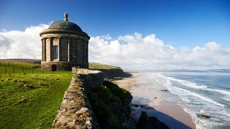 Mussenden Temple is the site of the Dragonstone in Game of Thrones