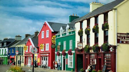 The picturesque town of Dingle is home to a number of excellent restaurants