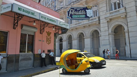 The Floridita, in Havana, is famed for its daiquiris – and Hemingway