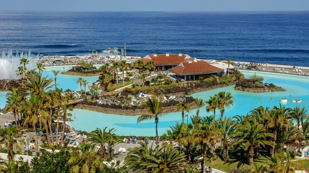 El Lago Martiánez is one of the must-visit water parks on the island of Tenerife