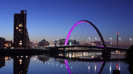 Glasgow is one of the UK's most exciting cities, especially when night falls