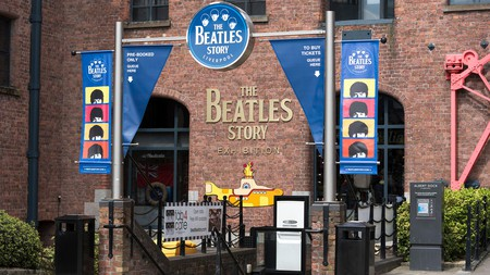 The Beatles Museum at the Albert Dock complex in Liverpool