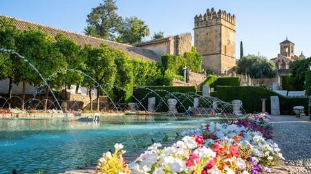 The Alcázar de los Reyes Cristianos is part of a Unesco World Heritage site