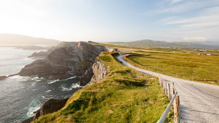 The Kerry Cliffs are an example of the South of Ireland's dramatic scenery
