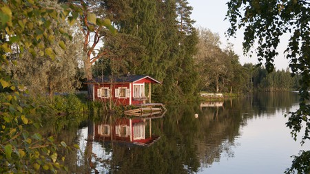 Finland in summer is full of outdoor activities, not least a sauna followed by a swim