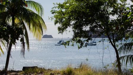 View of Samara Beach, Costa Rica.