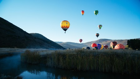 Hot Air Balloon Festival in Park City, Utah
