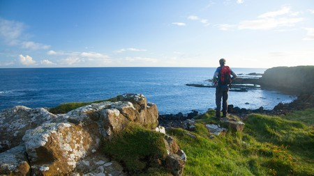 Northern Ireland has a vast coastline perfect for long walks