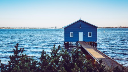 Check out landmarks like the Matilda Bay boathouse during your visit to Perth