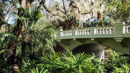 The Dickson Azalea Park is a peaceful respite from bustling Orlando
