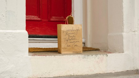 Three London housemates have sent out more than 400 food parcels to those in need during lockdown