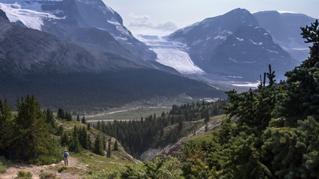 Jasper National Park is home to many trails that end with sweeping vistas