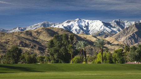 If you're going to play golf in Palm Springs, come to Tahquitz Creek Golf Resort with the dramatic backdrop of the San Jacinto mountains
