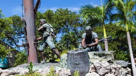 The Memorial Sculpture Garden in Key West