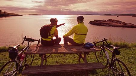 Lopez Island has plenty of flat roads, making it perfect to enjoy on two wheels