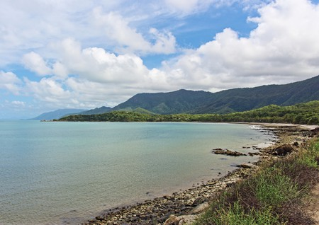 Cove above Thala Beach on the Great Barrier Reef Drive in FNQ Australia