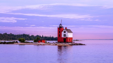 Michigan offers no shortage of weekend getaways, including a ferry ride past Round Island Lighthouse to Mackinac Island