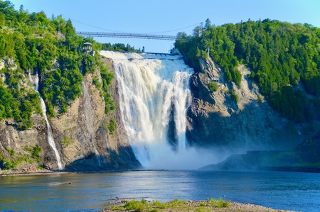Dating back to the Paleozoic era, Montmorency Falls is one of Quebec's must-visit natural wonders