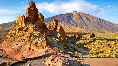 Tenerife's Mount Teide is the highest peak in Spain
