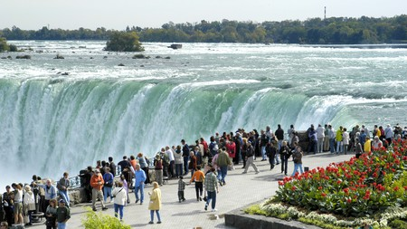 Niagara Falls is a popular bucket-list destination