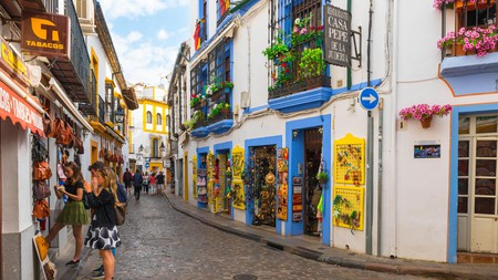 The Judería quarter of Córdoba has many colourful sights and architectural gems