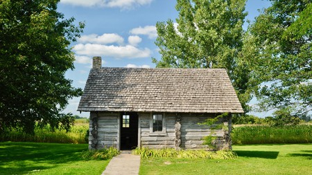 Historical Wisconsin sites include Laura Ingalls Wilder's birthplace in Pepin, the setting for her famous book 'Little House in the Big Woods'