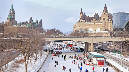 Visiting the Unesco-listed Rideau Canal is a must when in Ottawa