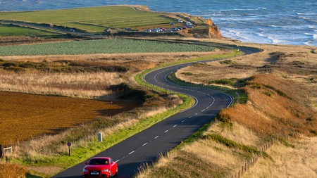 The Isle of Wight has some stunning coastal roads