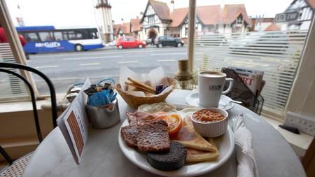 Square sausage and haggis are morning delicacies in Scotland