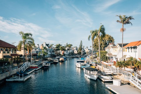 For a relaxing stroll, the Naples Canals Loop is an ideal choice