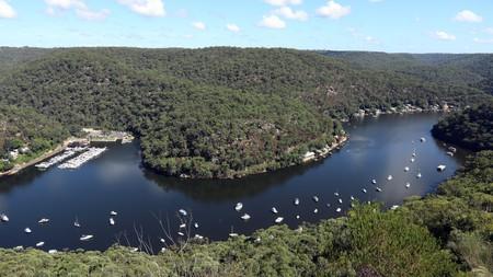 Kayaking on the Hawkesbury River offers an abundance of beautiful scenery