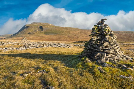 The Yorkshire Three Peaks Challenge takes on the peaks of Pen-y-ghent, Whernside and Ingleborough, usually in this order, and in under 12 hours.