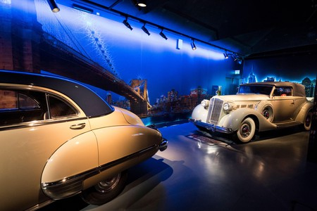 Italy, Turin: the Museo Nazionale dell'Automobile (The National Automobile Museum), MAUTO. Interior view of the building built in 1932 and renovated i