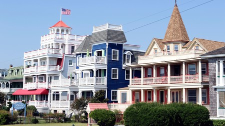 Cape May is a resort town primarily known for Victorian themed structures