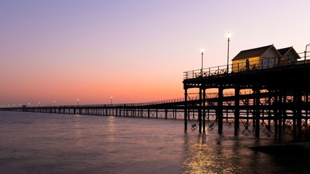 England's Southend Pier is the largest pleasure pier in the world
