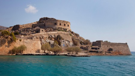 The fort on the island of Spinalonga is an essential day trip during your visit to Crete