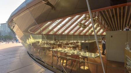 The Bennelong Restaurant is inside the Sydney Opera House