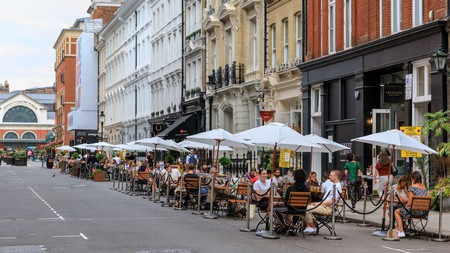 Find the best places in the capital for al fresco eating
