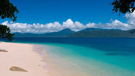 Hire a kayak and enjoy some of the best views of Fitzroy Island