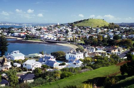 View over Devonport Auckland North Island New Zealand