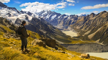 Aoraki/Mount Cook is the highest mountain in New Zealand