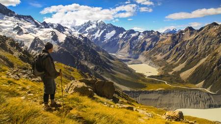 Aoraki/Mount Cook is the highest mountain in New Zealand
