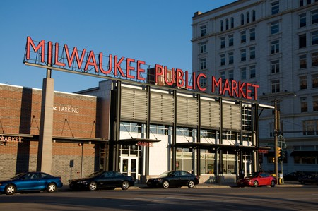 Milwaukee Public Market is a great place to shop for specialty foods and souvenirs
