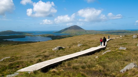 The Diamond Hill Trail is part of the Wild Atlantic Way