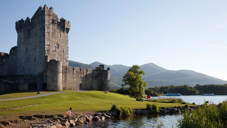 Ross Castle is one of County Kerry's stunning must-see attractions