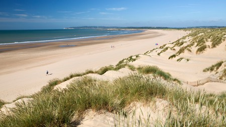 Spending time on a sandy expanse of beach, such as Camber Sands, near Rye, is just a train ride away from London