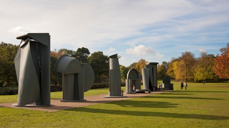 Yorkshire Sculpture Park is one of the most exciting outdoor art spaces in the UK