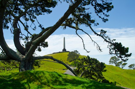 View of One Tree Hill Auckland New Zealand